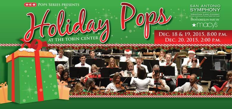San Antonio Symphony Holiday Pops 2015 | San Antonio Charter Moms