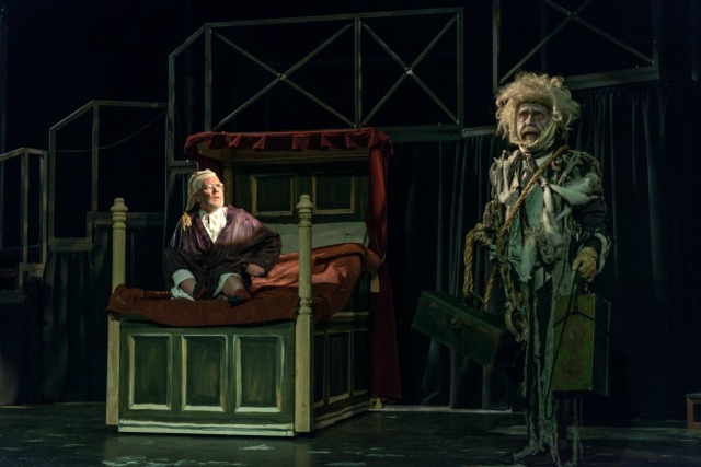 """A Christmas Carol"" at the Playhouse San Antonio - photo by Siggi Ragnar http://www.sragnar.com/ 