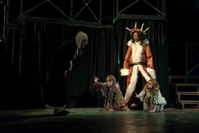 """A Christmas Carol"" at the Playhouse San Antonio - photo by Siggi Ragnar http://www.sragnar.com/   San Antonio Charter Moms"