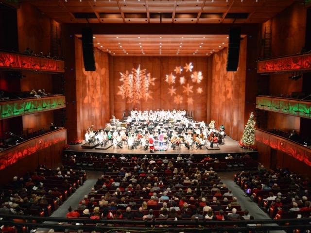 San Antonio Symphony Holiday Pops at the Tobin Center | San Antonio Charter Moms